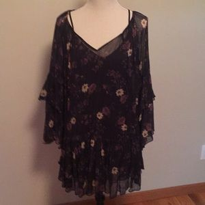Free People tunic and camisole combo